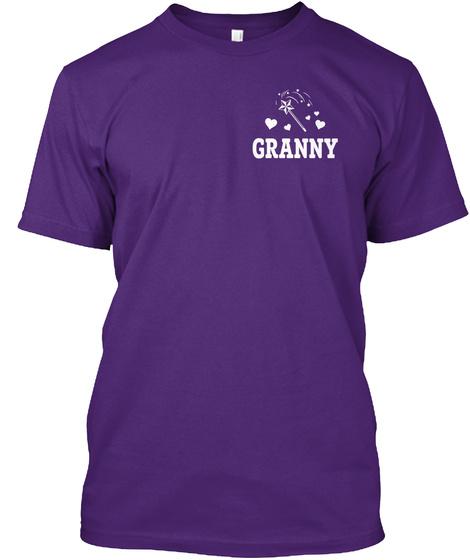 Granny Purple T-Shirt Front