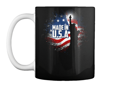Made In U.S.A Black Ly uống nước Front