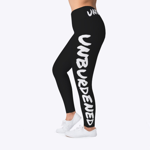 Leggings Black T-Shirt Left