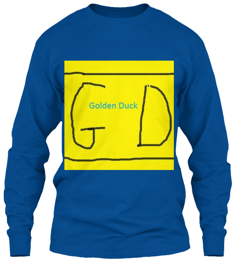 G Golden Duck D Royal Lange Mouwen T-Shirt Front
