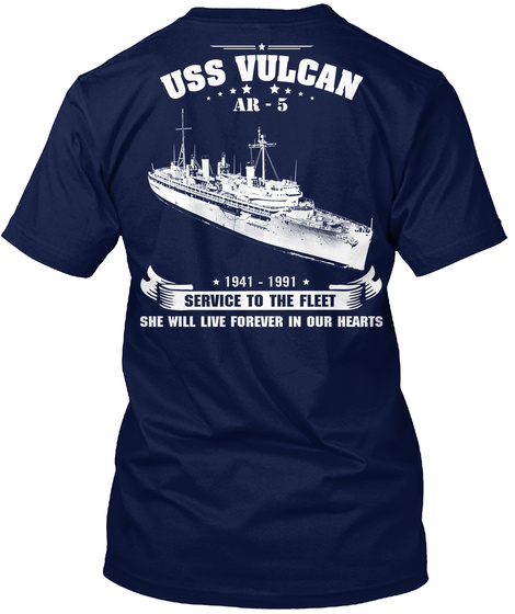 USS Vulcan AR-5 Unisex Tshirt
