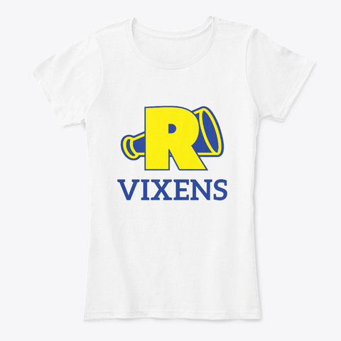 River Vixens Inspried Riverdale White T-Shirt Front