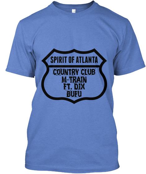 Spirit Of Atlanta Country Club M Train Ft Dix Bufu Heathered Royal  T-Shirt Front