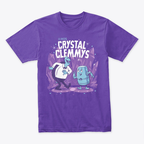 Ros Crystal Clemmys Purple Rush T-Shirt Front
