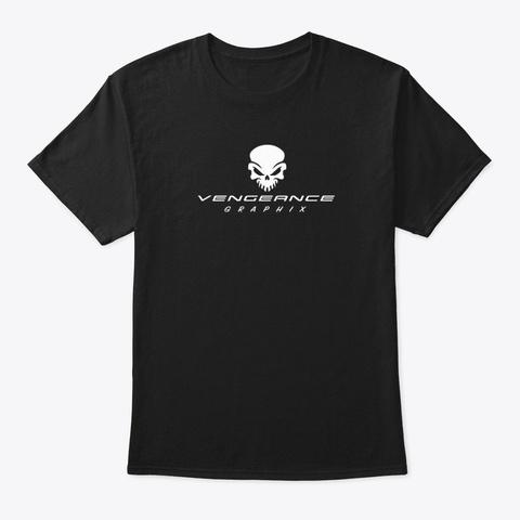 Vengeance Graphix Gear Black T-Shirt Front