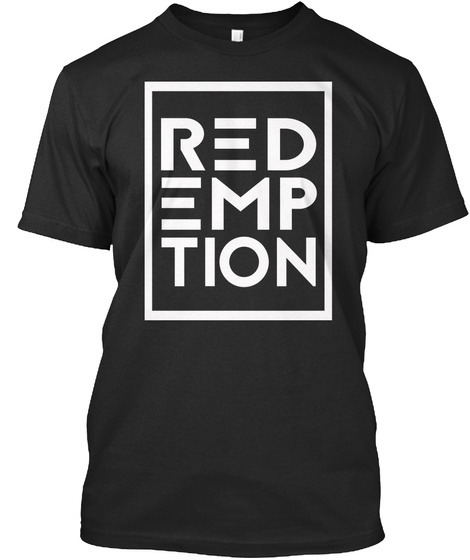 Red Emp Tion Black T-Shirt Front