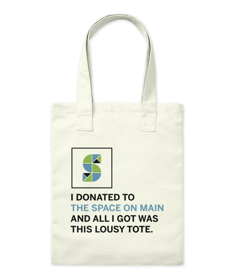 Som Lousy Tote Natural Tote Bag Front
