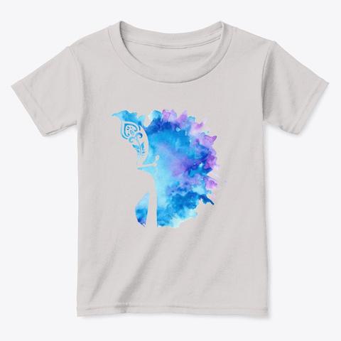 Spiritual Krishna Design   Color Splash Sport Grey  T-Shirt Front