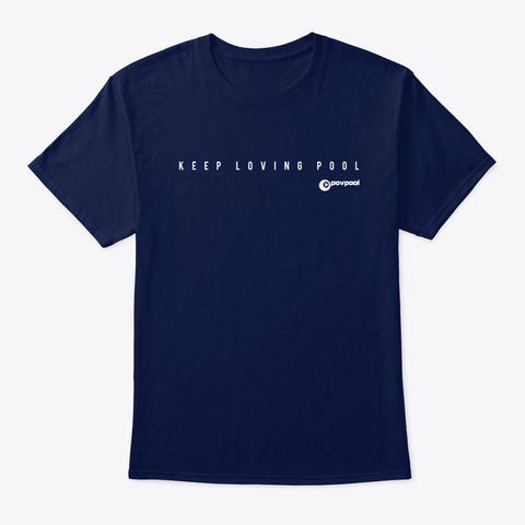 Pov 8 Navy T-Shirt Front