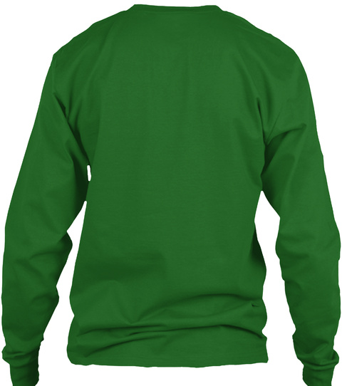 Xmas Gift From Jakupi  Irish Green Long Sleeve T-Shirt Back