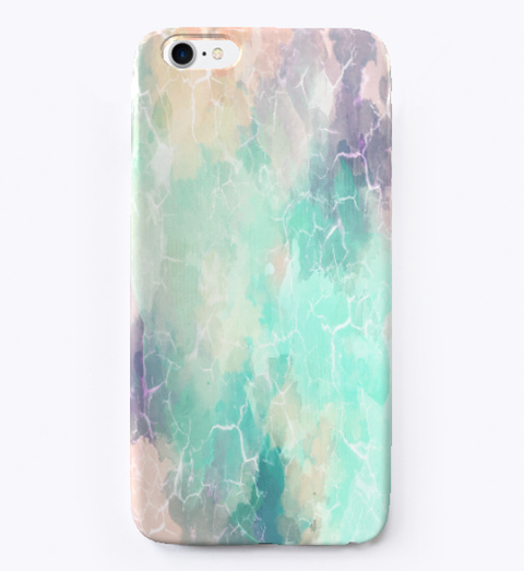 Marble Texture I Phone Case Standard T-Shirt Front