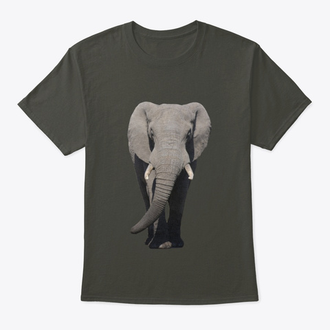 All Creatures Great & Small Smoke Gray T-Shirt Front