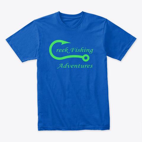 Cfa T Shirt With Green Logo Royal T-Shirt Front