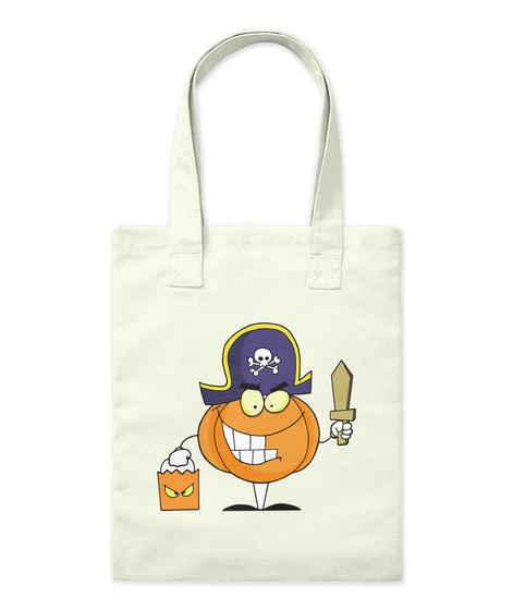 Halloween Funny Tots Natural T-Shirt Front