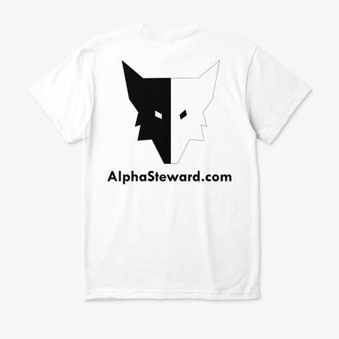 Alpha T Shirt White T-Shirt Back