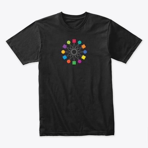 Unisex T Shirt Black T-Shirt Front