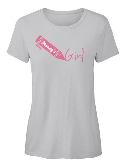 Mummy's Girl Sport Grey Women's T-Shirt Front