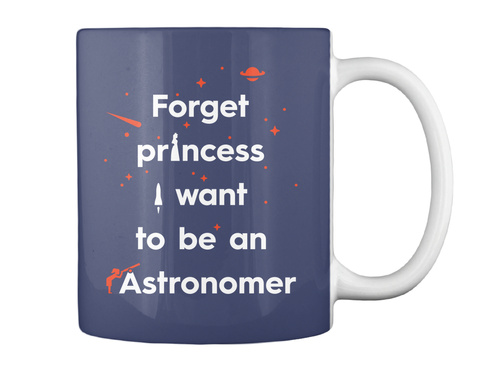Forget Princess 2 Mug [Int] #Sfsf Dark Navy Mug Back