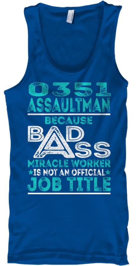 0351 Assaultman - Badass SweatShirt