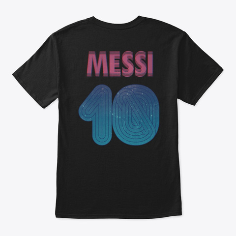 Leo Poster Shirt Black Camiseta Back