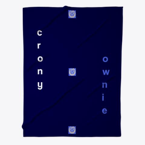 Cronychat Blanket Dark Navy T-Shirt Front