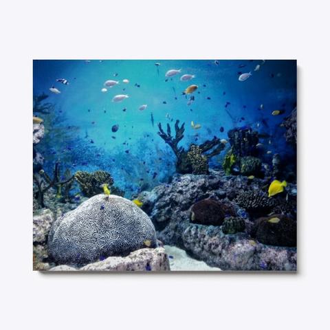 Sea Life   Ocean/Fish Canvas Print Art Standard T-Shirt Front