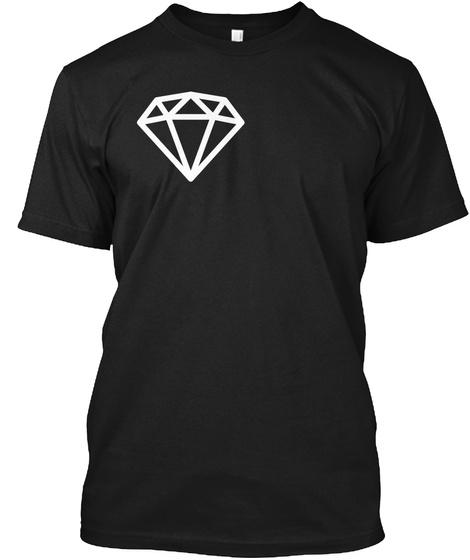 Bryant's Beads Merch! (New!) Black T-Shirt Front