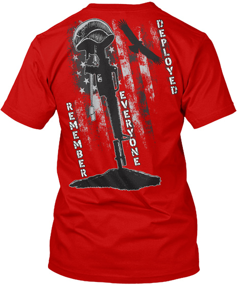 Red Friday T Shirt! Classic Red T-Shirt Back