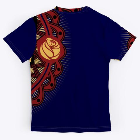 Skulz Dark Navy T-Shirt Back