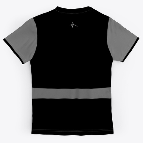 Antoine Maurice King Black/Grey Tee Standard T-Shirt Back