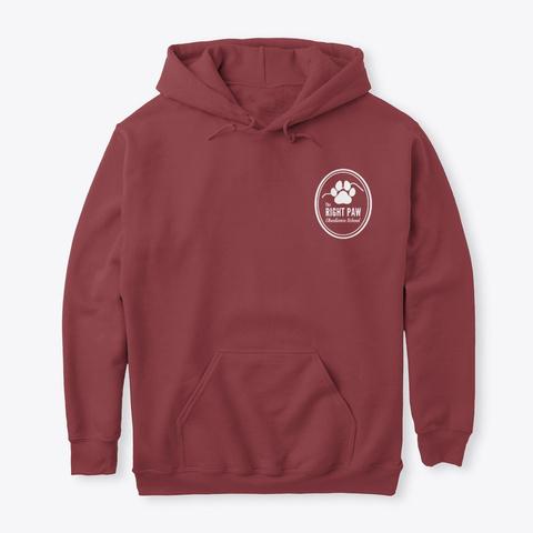Trp Hoodie Maroon T-Shirt Front