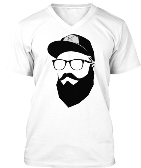 Nic Cameron White T-Shirt Front