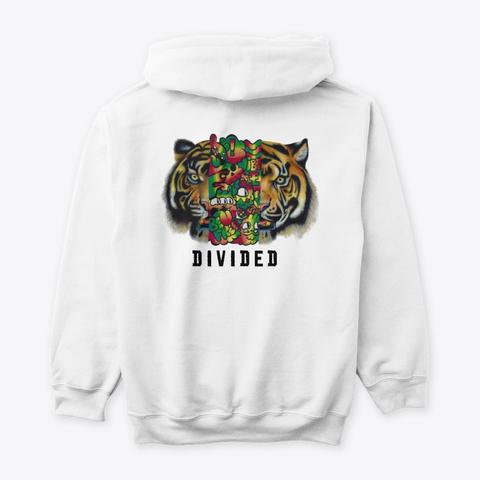 D   I   V   I   D   E   D White T-Shirt Back