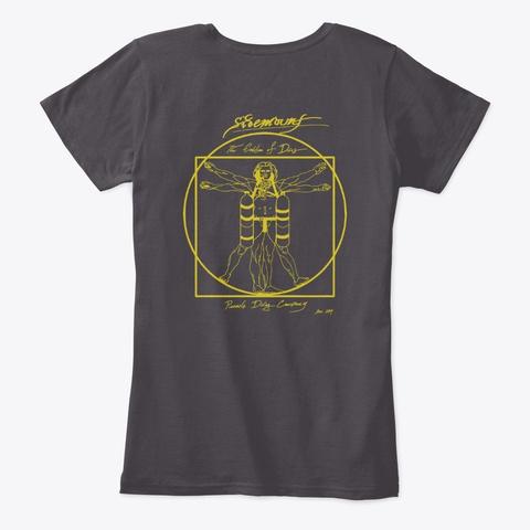 Pdc Sidemount Evo Women's Heathered Charcoal  T-Shirt Back