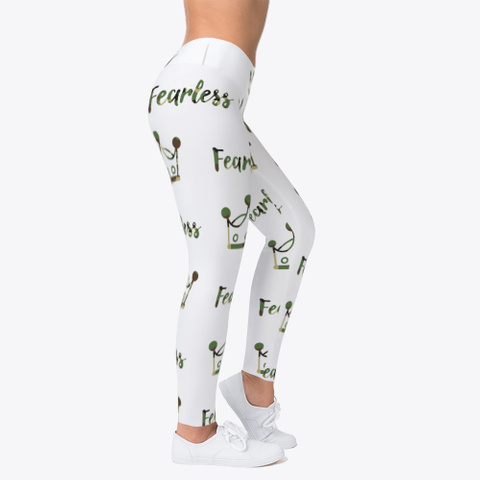 Fearless Crown Camo Leggings Standard T-Shirt Right