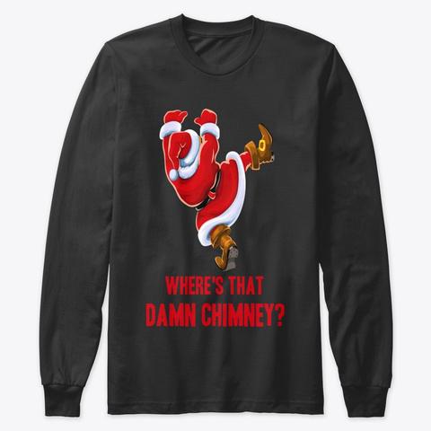 Chimney Crises Black T-Shirt Front