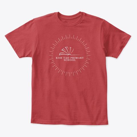 Cherishing Ktp Desings By Carolyne Classic Red T-Shirt Front