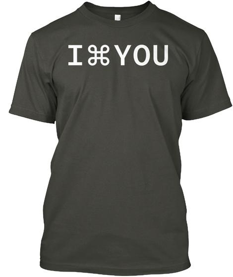I Command You Smoke Gray Camiseta Front