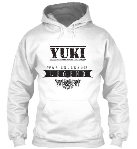 Yuki An Endless Legend White T-Shirt Front