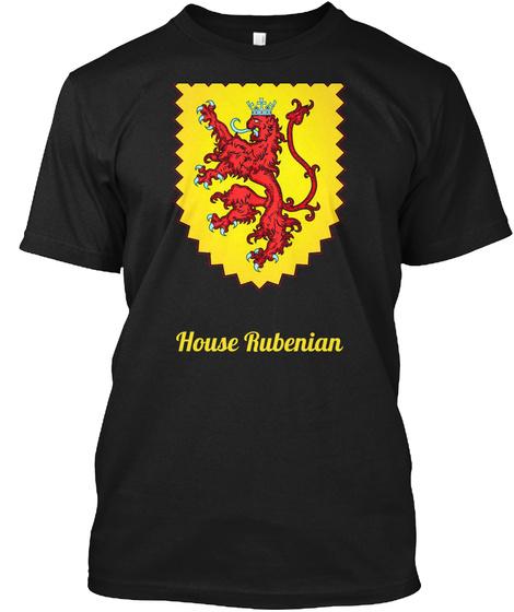 House Rubenian Black T-Shirt Front