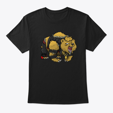 Savage Mode Black T-Shirt Front