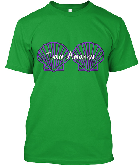 Team Amanda Kelly Green T-Shirt Front