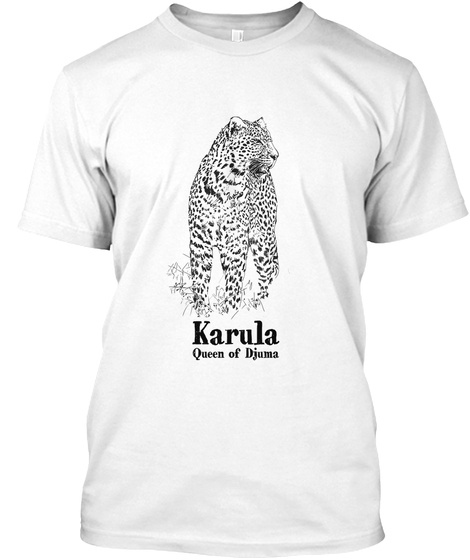 Karula White T-Shirt Front