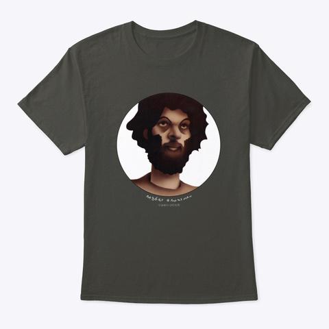 Robert Grossman Self Portrait Alt Tee Smoke Gray T-Shirt Front