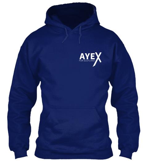 Ayex Oxford Navy T-Shirt Front
