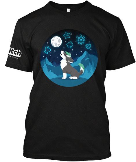 Wilko Shirts Black T-Shirt Front