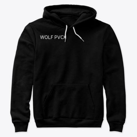 Jvstyce Wolf Pvck Merch Black T-Shirt Front