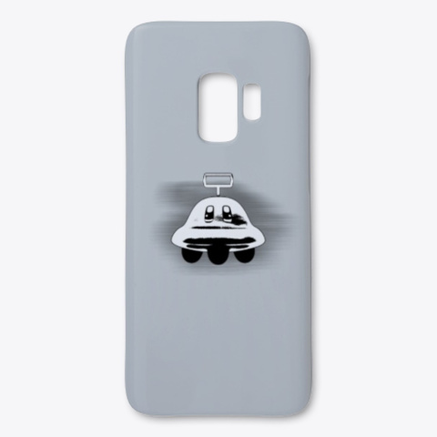 Ufo I Phone/Samsung Case (Kirby Series) Light Grey Heather T-Shirt Front