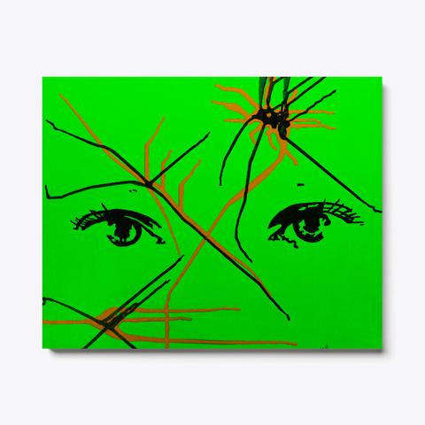 Artist Eyes Green Standard T-Shirt Front