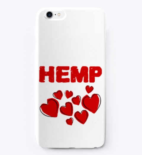 Hemp Hearts Love Standard T-Shirt Front
